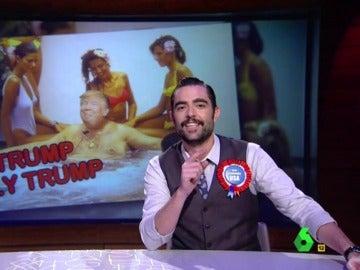 Dani Mateo habla de Donald Trump