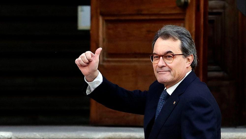 Artur Mas, en la última jornada del juicio por el 9-N