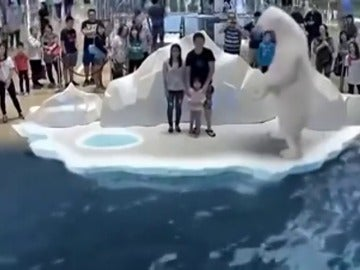 Frame 38.841998 de: Un grupo de japoneses presentan un zoológico virtual donde no existen animales encerrados