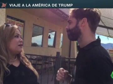 """Frame 92.75221 de: Betty Rivas, mujer latina que apoya a Trump: """"Tiene buenas ideas, quiere proteger a la nación y sus fronteras"""""""