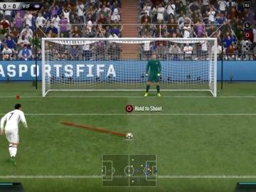 Penalti indirecto en el FIFA 17