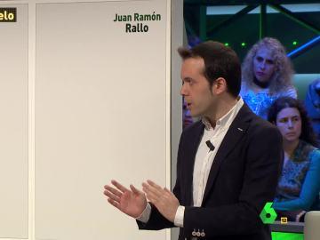 El economista Juan Ramón Rallo, en laSexta Noche