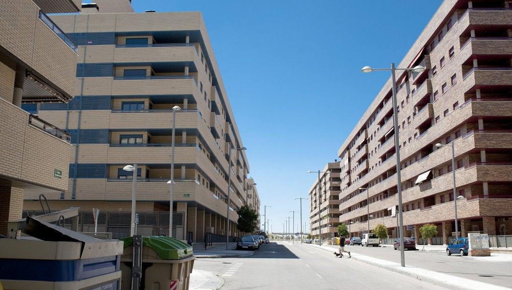 Vistas de la urbanización 'El Quiñón', en Seseña (Toledo)