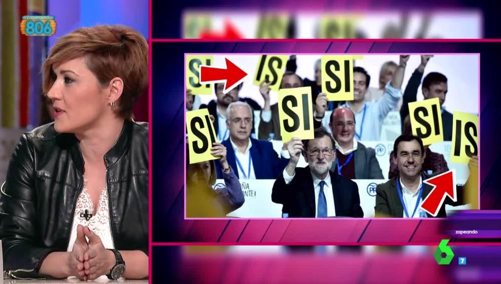 Cristina Pardo critica el sistema de votación del PP