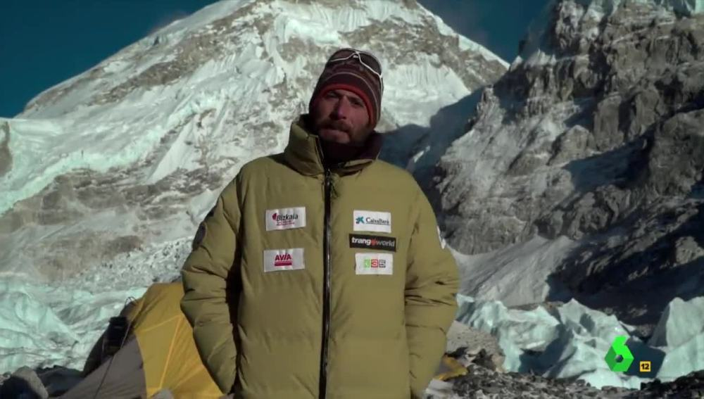 Alex Txikon en el Everest