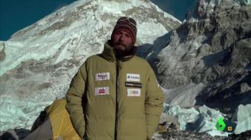 Alex Txikon en el Everest