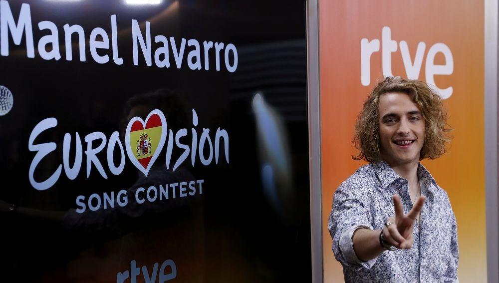 Manel Navarro, representante de España en Eurovisión 2017