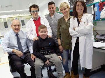 Segi, un menor de 9 años que ha plantado cara a la leucemia