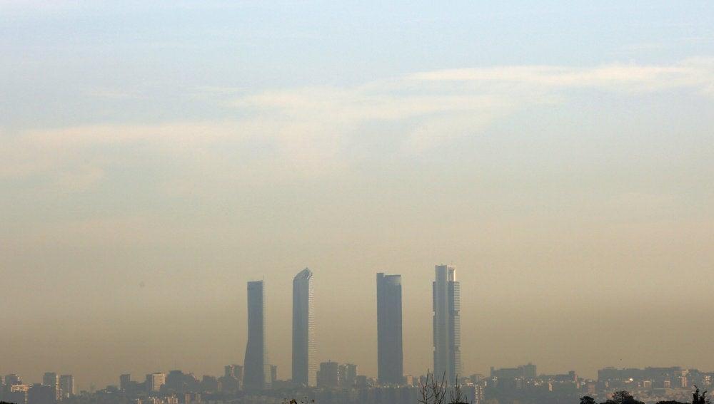 Contaminación en Madrid