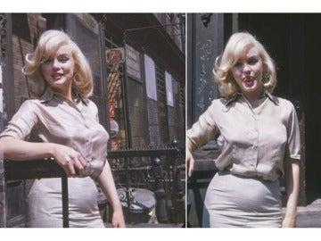 Fotos inéditas de Marilyn Monroe embarazada