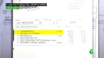 Frame 97.633291 de: 40.000 euros en viajes y comilonas y 20.000 en efectivo en un verano: gastos del despilfarro del Campus de la Justicia