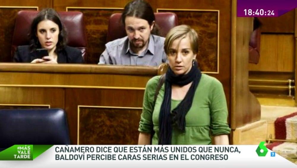Frame 56.225148 de: ¿Hay tensión en la nueva bancada de Podemos? Hablamos con Cañamero y Joan Baldoví