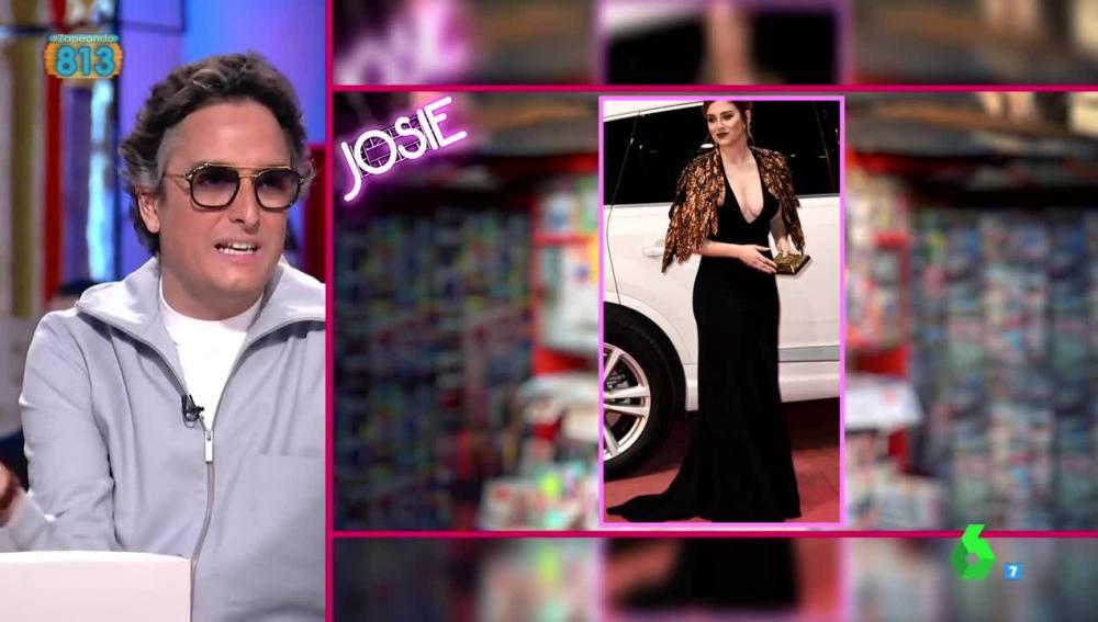 """Josie vuelve """"a hacer sangre"""" con su crítica al look de Blanca Suárez"""
