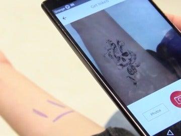 La realidad aumentada puede simular tu mejor tatuaje