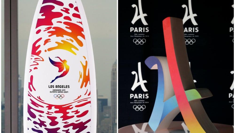 Los Angeles y París, candidatas a albergar los Juegos Olímpicos de 2024