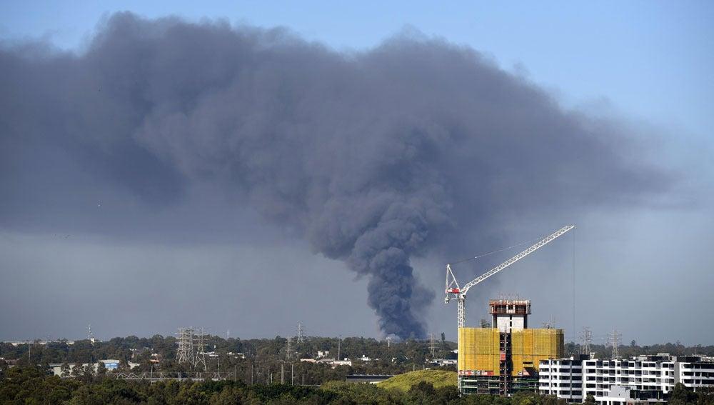 Incendio en Sídney