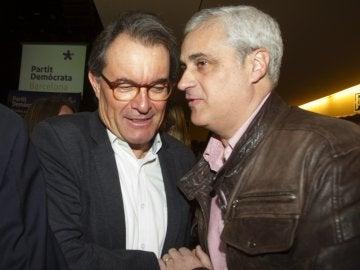 Artur Mas, en un acto del Partido Demócrata Catalán