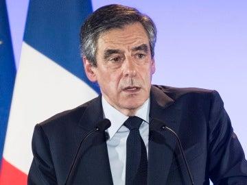 Francois Fillon campaña elecciones de Francia