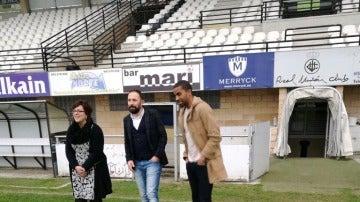 Thaylor Lubanzadio, jugador del Real Unión de Irun