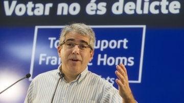 Francesc Homs, diputado del PdeCAT