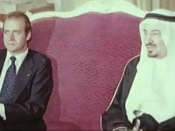 Reyes de España y Arabia Saudí