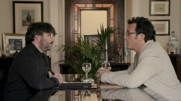 Kichi en Salvados con Jordi Évole