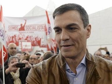 Pedro Sánchez, en un acto