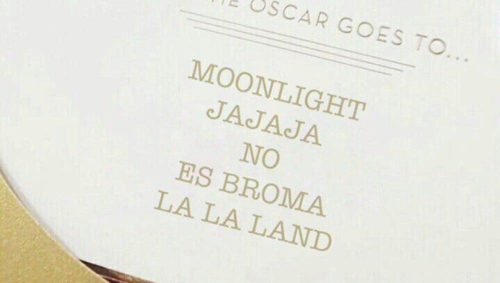 Meme gala de los Oscars