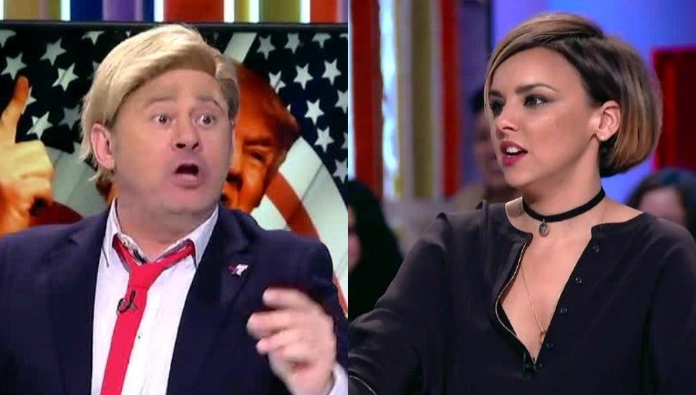 El rifirrafe entre Paco Trump y Chenoa