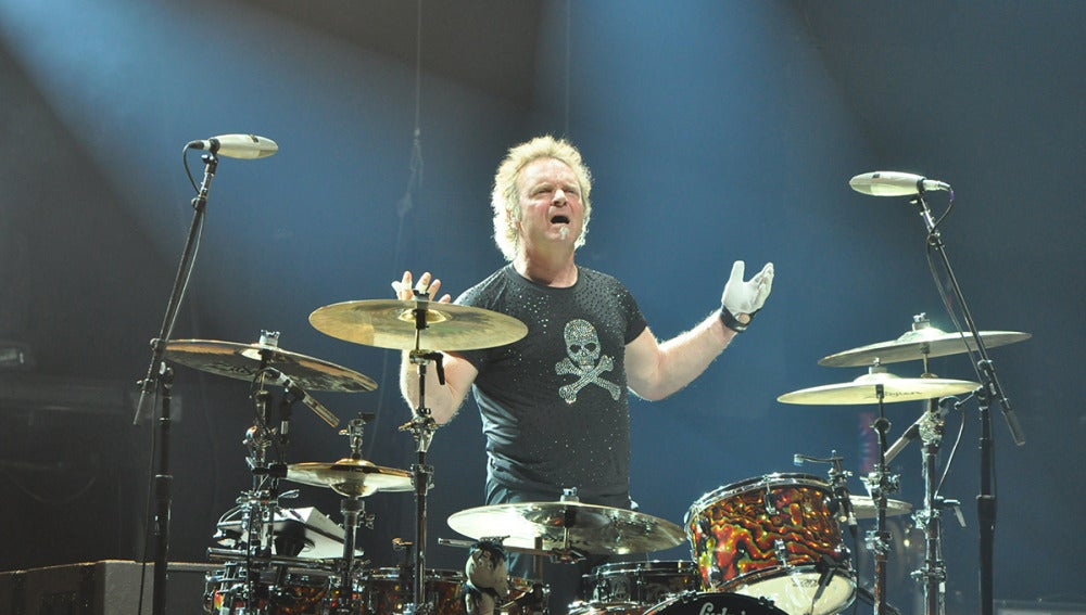 Joey Kramer, batería de Aerosmith