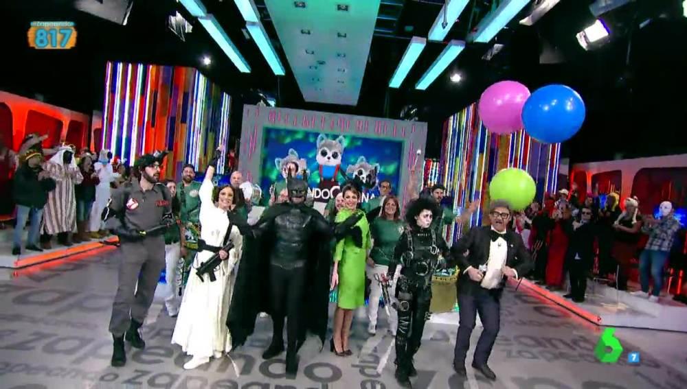 "Zapeando celebra su carnaval de ""cine"""