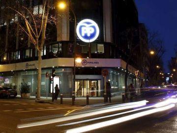 Sede nacional del PP en Génova