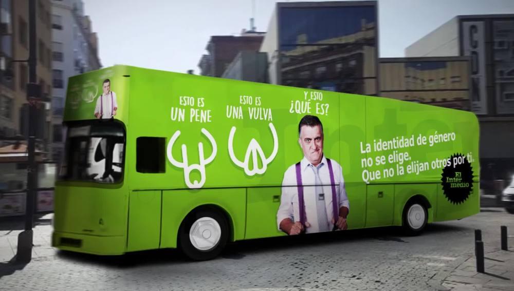 El autobús reivindicativo de El Intermedio