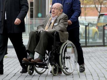 Fèlix Millet llega al juicio del caso Palau