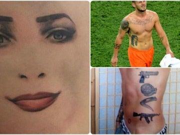 Los peores tatuajes en el mundo del fútbol