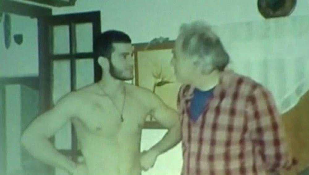 Pablo Ráez y su padre
