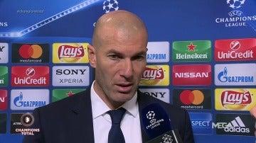 """Frame 15.136305 de: Zidane: """"Hemos ganado y ya está, no podemos jugar bien los 90 minutos"""""""