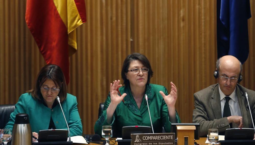 La comisaria de Transportes de la UE, Violeta Bulc