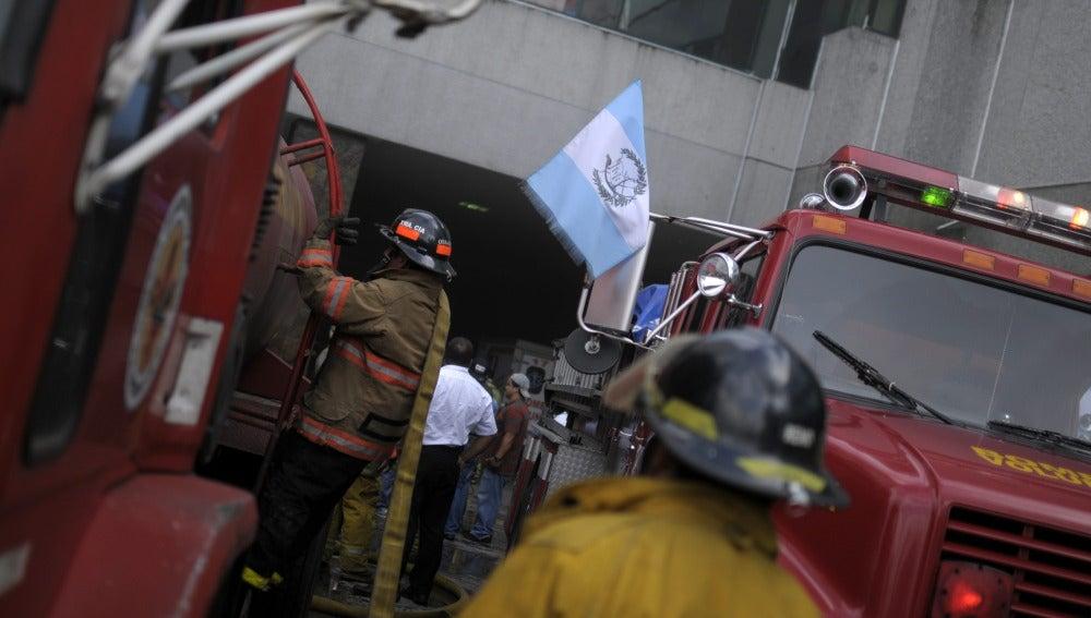 Incendio en Guatemala