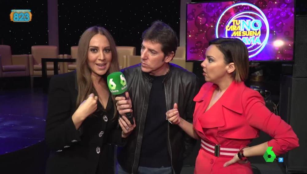 Mónica Naranjo, Chenoa y Manel Fuentes, de 'Tu cara no me suena todavía'