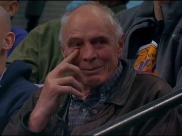 El entrenador de tiro de Dirk Nowitzki emocionado