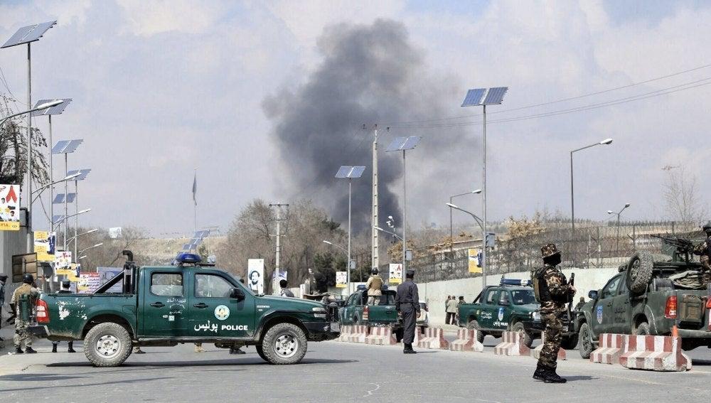 Miembros de las Fuerzas de Seguridad de Afganistán