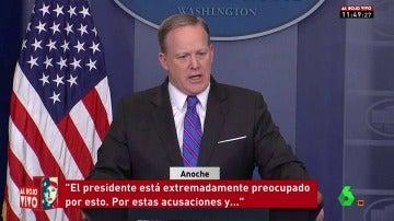 """Frame 35.987726 de: Trump, extremadamente preocupado por la filtración de WikiLeaks sobre la CIA: """"Perseguiremos a la gente que filtre información"""""""
