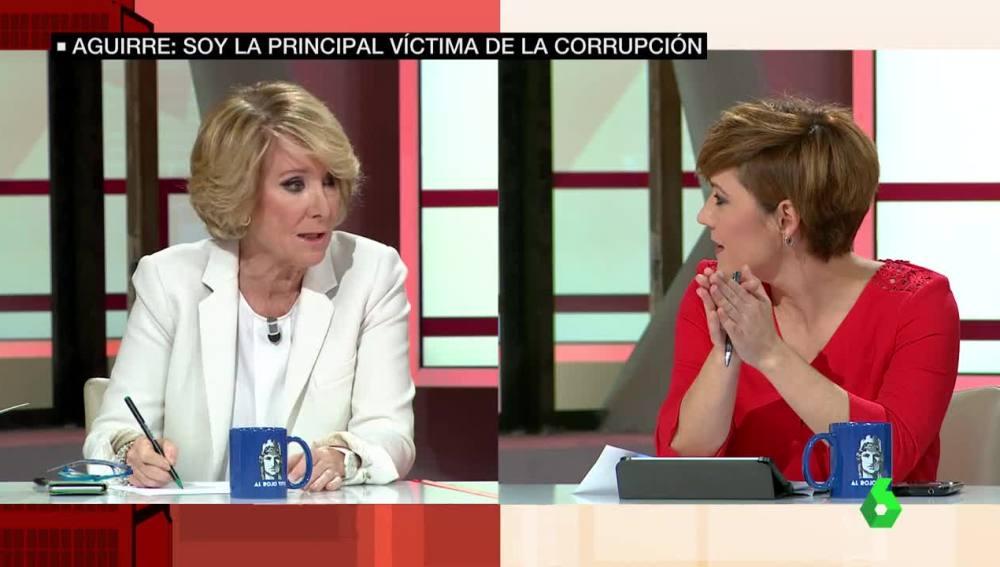 Aguirre responde a Cristina Pardo en ARV