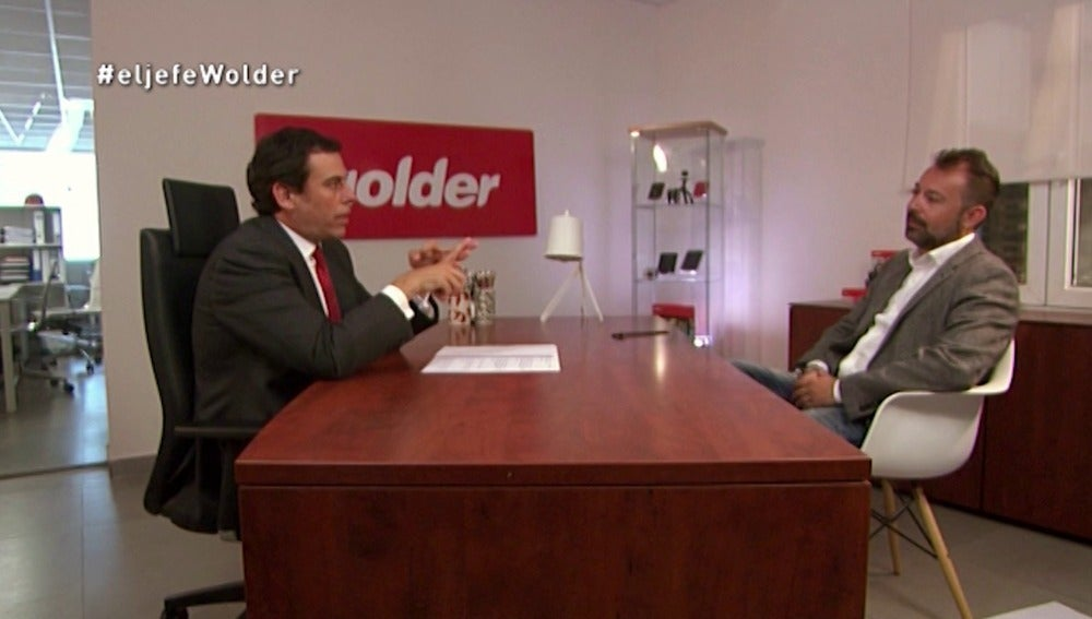El Jefe Infiltrado de Wolder con Daniel