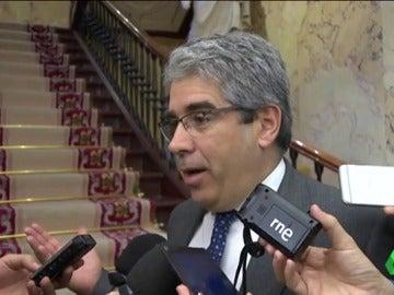 El portavoz parlamentario de PdeCat, Francesc Homs
