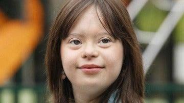 Joven francesa con síndrome de Down presentará el tiempo