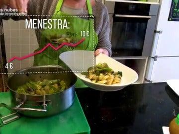 Frame 61.648979 de: La histórica subida del precio de las verduras provoca que haya género que cueste igual que una pierna de cordero