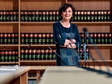 La coordinadora de la sección de Menores de la Fiscalía Provincial de Valencia, Consuelo Benavente