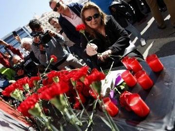 La expresidenta de la Asociación 11M Víctimas del Terrorismo, Pilar Manjón, madre del joven Daniel, uno de los fallecidos en el atentado